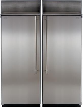 Marvel M60CFRSS Side-By-Side Refrigerators