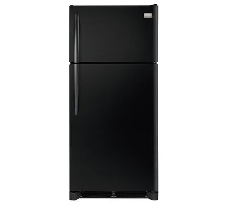 """Frigidaire FGHI1865S 30"""" Energy Star Rated Gallery Series Freestanding  Custom-Flex Top Freezer Refrigerator with 18.3 cu. ft. Total Capacity, 3 Glass SpillSafe Shelves, Can Dispenser, Ice Maker, and Ready-Select Control:"""
