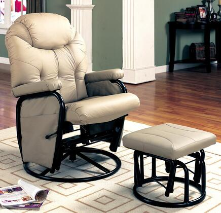Coaster 7292 Casual Wood Frame  Recliners