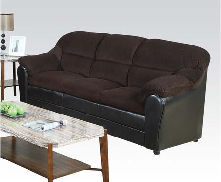 Acme Furniture 15975 Connell Series Stationary Fabric Sofa