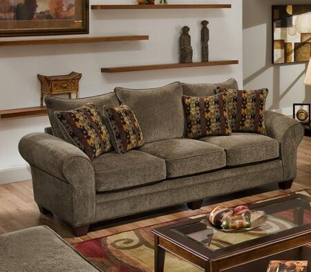Chelsea Home Furniture 1837083953SL Clearlake Series Chair Sleeper Polyeter Sofa