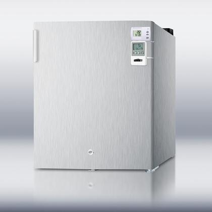 "Summit FS22LCSSMEDSC18"" Medical Series Freestanding Upright Freezer"