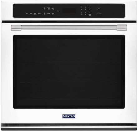 """Maytag MEW9530FX 30"""" Single Wall Oven with True Convection, 5 cu. ft. Capacity, Precision Cooking System, Variable Broil, Digital Display, Timer, and Incandescent Light"""