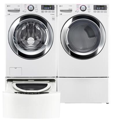 LG LG4PCFL27E2PEDWKIT8 Washer and Dryer Combos