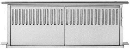 Faber Scirocco Plus SCIR3X14SS Rise Downdraft Vent System With Push Button Rise Control, Reversible Motor Box, Variable Speed Control Slider & In Stainless Steel