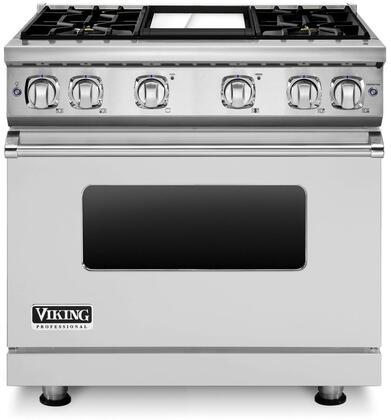 Viking Vgr7364gsslp 7 Series 36 Inch Stainless Steel Gas Convection Freestanding Range