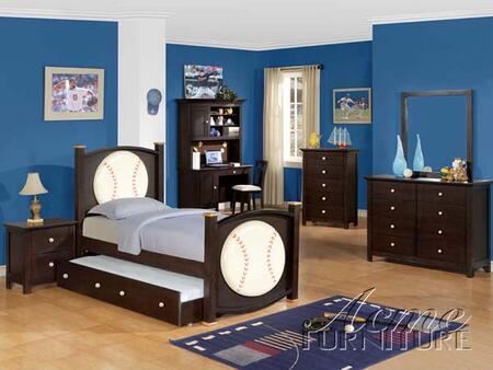 Acme Furniture 119XM All Star Mirror in Espresso