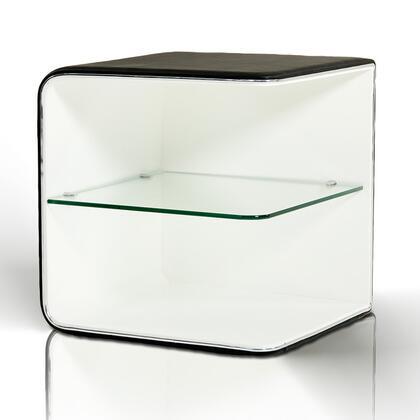 VIG Furniture VGEVBN007 Modrest Spirit Series Square Wood Night Stand