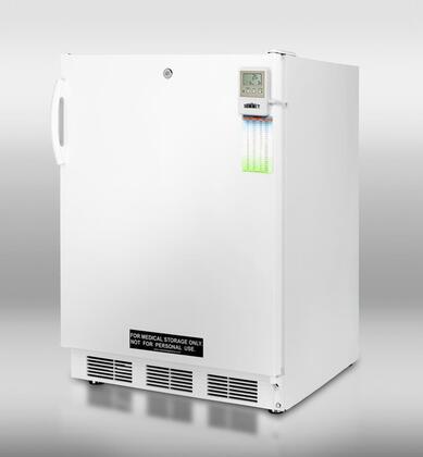 Summit SCFF55LMEDADA MEDADA Series  Freezer with 5 cu. ft. Capacity in White