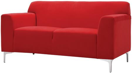 Glory Furniture G330L Velvet Stationary Loveseat
