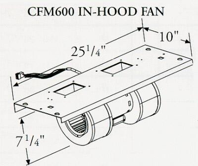 Prizer Hoods CFM600INHOOD
