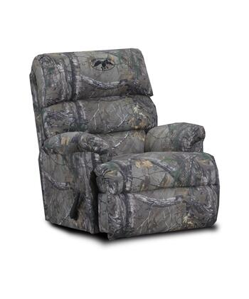 Chelsea Home Furniture 20RDC Duck Commander Recliner with 16 Gauge Wire, Sinuous Spring System, Hi-Density Foam Core, Pull Bar Reclining and Kiln Dried Hardwood in