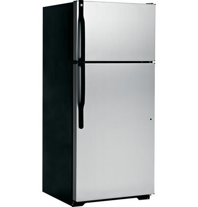 GE GTK17GCEBS  Refrigerator with 16.5 cu. ft. Capacity in CleanSteel