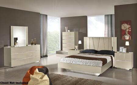 VIG Furniture VGACCLUXORBGEEK Luxor Series 5 Piece Bedroom Set