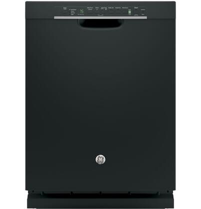"GE GDF650S 24"" Built-in Dishwasher with 16-Place Settings, 4 Wash Cycles, 10 Options, Bottle Jets, Hard Food Disposer with Removable Filter, Touch Adjustable Upper Rack and Steam Prewash, in"