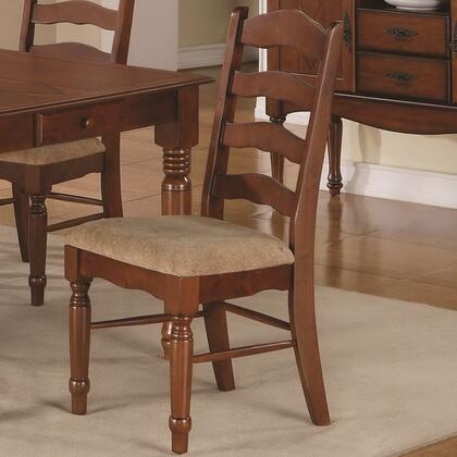 Coaster 103142 Oxford Series Traditional Wood Frame Dining Room Chair
