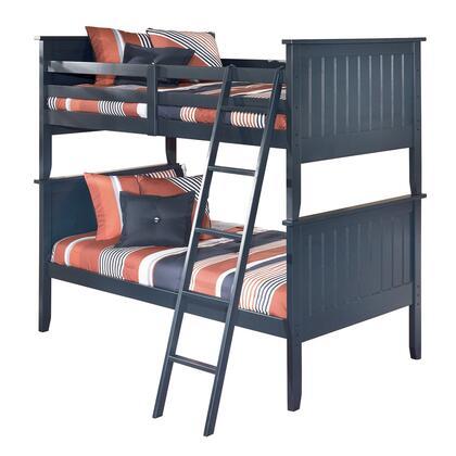Milo Italia BR179765775777 Jamarion Series  Twin Size Bunk Bed