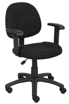 "Boss B316BK 25"" Adjustable Contemporary Office Chair"