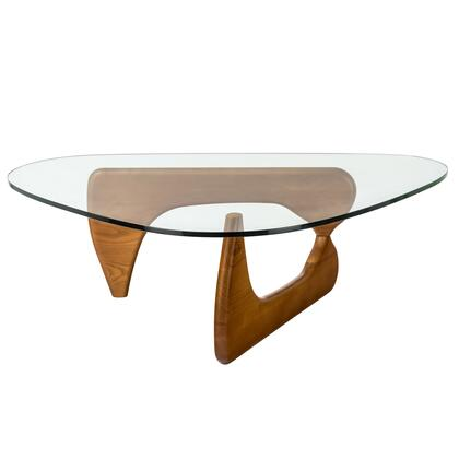 EdgeMod EM149WAL Walnut Contemporary Table