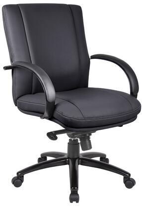 "Boss AELE65BBK 25"" Contemporary Office Chair"