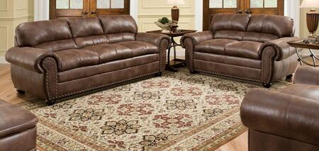 Simmons Upholstery 7510030201PADREESPRESSO Padre Living Room