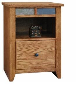 """Legends Furniture OC6805GDO 21.81"""" Wood File Cabinet"""