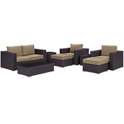 Modway EEI2159EXPMOCSET Rectangular Shape Patio Sets