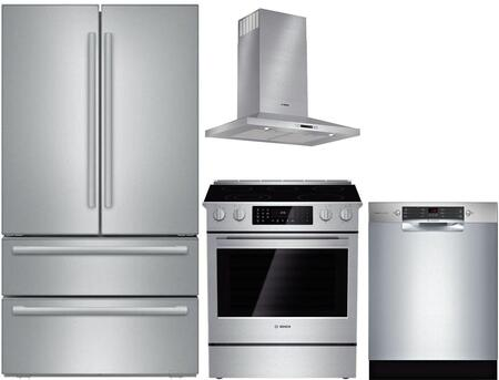 Bosch 741727 800 Kitchen Appliance Packages Appliances Connection