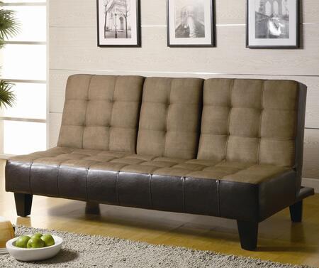 Coaster 300237 Sofa Beds and Futons Series Convertible Microfiber Sofa