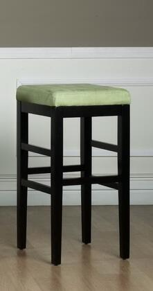 Armen Living LCSTBAMFGR30 Residential Fabric Upholstered Bar Stool