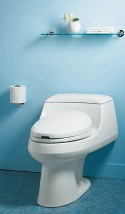 Kohler K-3466- One-Piece Elongated Toilet: