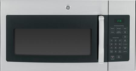 GE JVM3160RFSS 1.6 cu. ft. Over the Range Microwave Oven with 300 CFM, 1000 Cooking Watts, 10 Power Levels in Stainless Steel