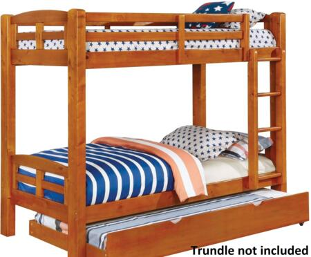 Furniture of America CMBK618TABED Solpine Series  Twin Size Bed