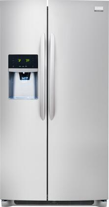 "Frigidaire FGHS2631PF 36""  Side by Side Refrigerator with 25.6 cu. ft. Capacity in Stainless Steel"