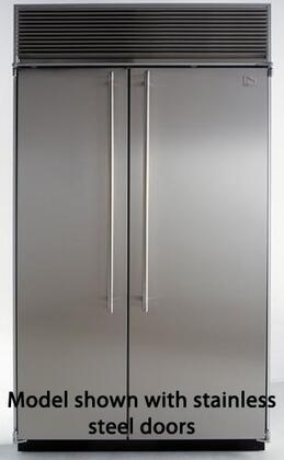 Northland 60SSSB  Counter Depth Side by Side Refrigerator with 39.3 cu. ft. Capacity in Black