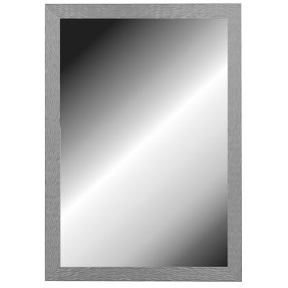 Hitchcock Butterfield 68010X Reflections Shimmering Stainless Framed Wall Mirror