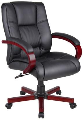 "Boss AELD62MBK 26"" Contemporary Office Chair"