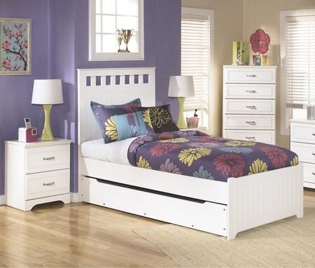 Signature Design by Ashley B102TPTBEDROOMSET Lulu Twin Bedro