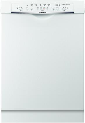 """Bosch SHE3AR52UC 24"""" Ascenta Series Built In Full Console Dishwasher 
