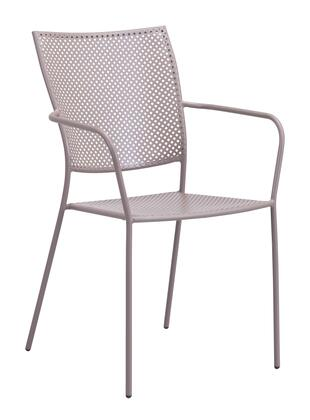 "Zuo 703XX Pom 35"" Dining Chair with Weather Resistant Paint"