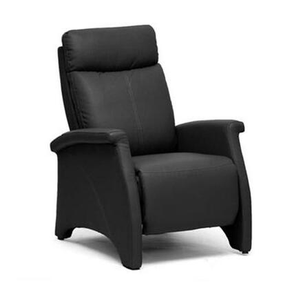 Wholesale Interiors A060Black Sequim Series  Recliners