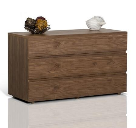VIG Furniture VGKCGBS023WAL Modrest Logan Series Wood Dresser