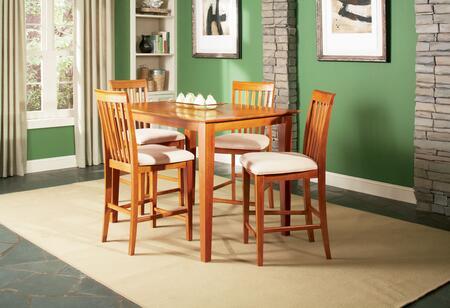Atlantic Furniture SHAKER5454BTPTES