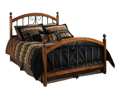 Hillsdale Furniture 1258BFR Burton Way Series  Full Size Poster Bed