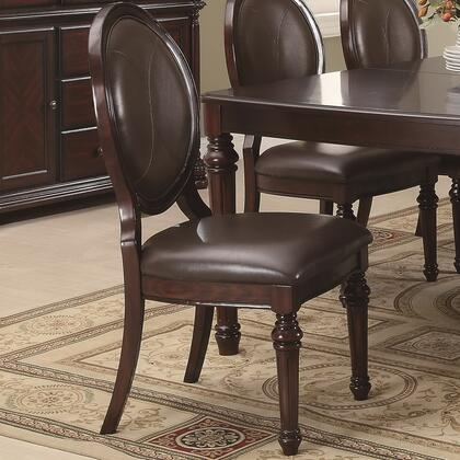 Coaster 103202 Davina Series Casual Wood Frame Dining Room Chair