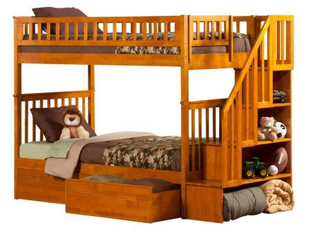Atlantic Furniture AB56617  Twin Size Bunk Bed