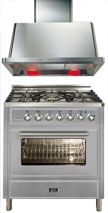 Ilve 721293 Majestic Techno Kitchen Appliance Packages