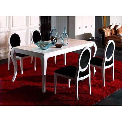 VIG Furniture VGUNAA8221805PCSET A & X Dolce Dining Room Tab