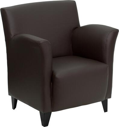 """Flash Furniture ZBROMANBROWNGG 30"""" Contemporary Office Chair"""