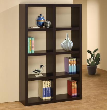 Coaster 800298Bookcases Series  8 Shelves Bookcase